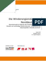 Branchenanalyse-Windenergieindustrie