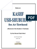 1 Definition of Tawheed and Shirk of the People of Nuuh