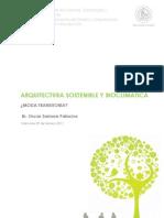 Arquitectura Sostenible y Bioclimática