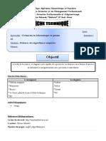 Cours Les Enregistrements (Articles)