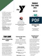 Stillwater Family YMCA Summer Camp Brochure