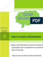 Green Engineering by Pratik Mor