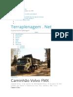 Caminhão Volvo FMX – Terraplenagem . Net