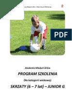 Program Szkolenia AMO Skrzat