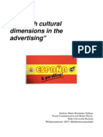 Essay. Spanish cultural dimension in the advertising. María Hernández. Visual Communication