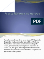 Slides Arte Barroca Na Europa 1º Anos 3ºbim 05 10 21