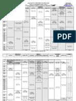 Aquatics Center Schedule Cycle 1102