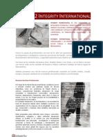 Brochure Institucional - i2 Integrity - Argentina