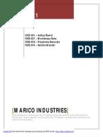 Marico Industries SAP_Group 3