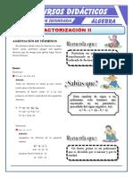 Factorización Por Agrupación de Términos Para Primero de Secundaria