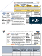 EXP.8(3°-4°) PLANIFICADOR ACTIVIDADES