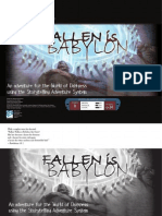 World of Darkness - SAS - Fallen is Babylon