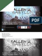 World of Darkness - SAS - Fallen is Babylon