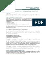 Práctica de laboratorio 9 3 5 configuración de cliente DHCP