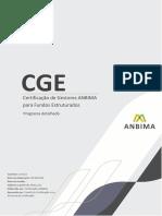 Programa Detalhado CGE