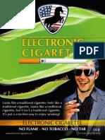 Electronic Cigarette Brochure