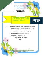 Estrategias Pedagógicas en El Área Personal Social y Ciencia Tecnología y Ambiente