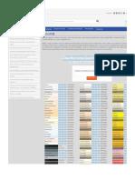 Tabela de Cores HTML (Hexadecimal e RGB) | Gráfica ExpanSSiva