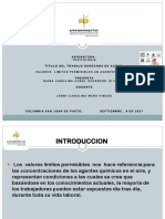 VALORES LÍMITE PERMISIBLES DE LOS AGENTES TÓXICOS PDF