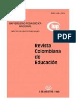 Revista Colombiana de Educacion Bernstein