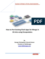 How to Port Existing Flash Apps for Meego OS using Encapsulator