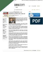12-04-11 Exhortan Diputados a no perjudicar producción acuícola -razonsonora