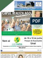 INFORMATIVO JORNAL CAPUL  - EDIÇÃO 123 - ABRIL DE 2011 - UNAÍ-MG