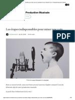 Les étapes indispensables pour mixer une voix _ by Antoine Feron _ Antoine Feron—Production Musicale _ Medium