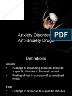 PSYC 179 Lecture 15 - Anxiety Disorders- Anti Anxiety Drugs