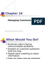 16 Managing Communication