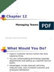 12 Managing Teams