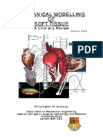 mechanical modeling of soft tissue