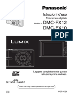 Manuale Fotocamera Panasonic