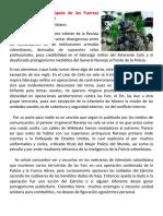 Hay fisuras en la cúpula de las Fuerzas Armadas colombianas