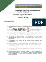 Manual ProcedimientoPASEK