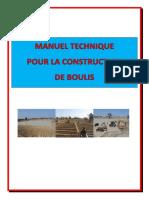 Manuel technique pour la construction du boulis au MALI