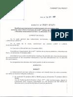 Arrêté n°2021-01071 - 44ème édition du Marathon international de Paris le dimanche 17 octobre 2021