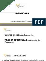 Aula 2 ERGONOMIA (EPI) ISPTEC