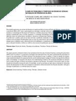 ARTICULAÇÃO ENTRE RESOLUÇÃO DE PROBLEMAS E TEMÁTICAS NO ENSINO DE CIÊNCIAS UMA ANÁLISE EM PERIÓDICOS DA ÁREA