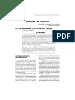 antifosfolipidos sindrome