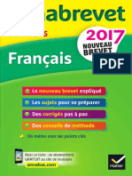 Annales Annabrevet 2017 Francais