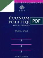 Economie Politique Pour l Afrique