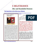 Psychic Ability and Kundalini Demons