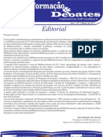 Informação e Debates - Informativo da AGIR Consultoria Jr. Ano 1, Nº 1,Março de 2011