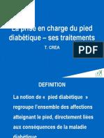 La Prise en Charge Du Pied Diabetique
