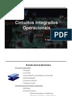 Circuitos Integrados Operacionais