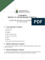 Prática 05 - Gabarito Final