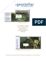 Geostellar Platform Guide and Documentation v2.0 030811