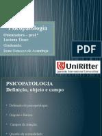 2 Psicopatologia - Definição, Campo de Atuação, o Que é Normalidade