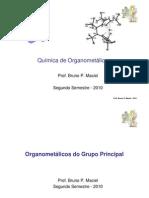 3 - Química de Organometálicos - Intro e Grupo Principal 3
